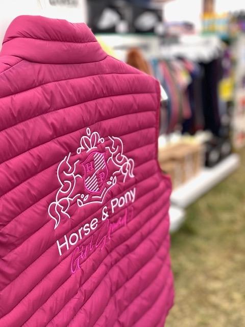 Kamizelka pikowana Horse & Pony Girl Squad HKM Malinowa