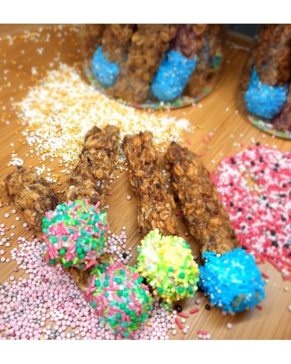 Naturalne smakołyki dla koni Lizaczki duże Końska Cukierenka