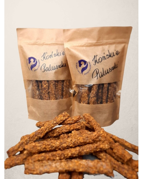 Naturalne smakołyki dla koni Paluszki duże Końska cukierenka