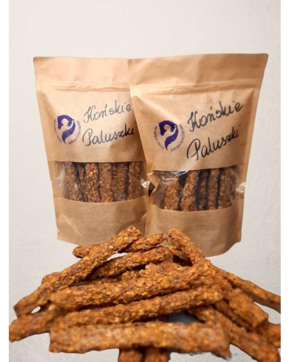 Naturalne smakołyki dla koni Paluszki małe Końska cukierenka