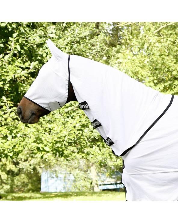 Maska chroniąca przed owadami z ochroną uszu Covalliero SuperFly