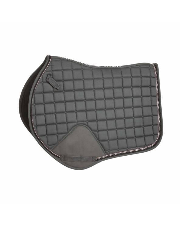 Czaprak Power Pad S Style Schockemohle Short Strap Asphalt