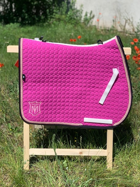 Czaprak Square Pad MATTES fuchsia Saddle Fix