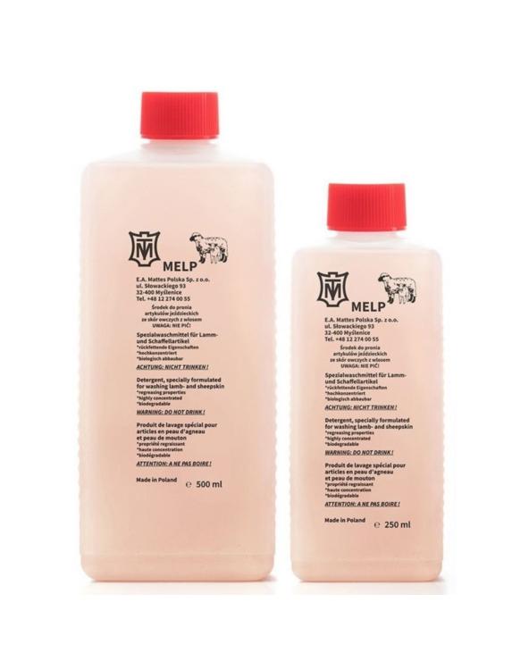 Płyn detergent do prania produktów z wełny owczej MELP MATTES