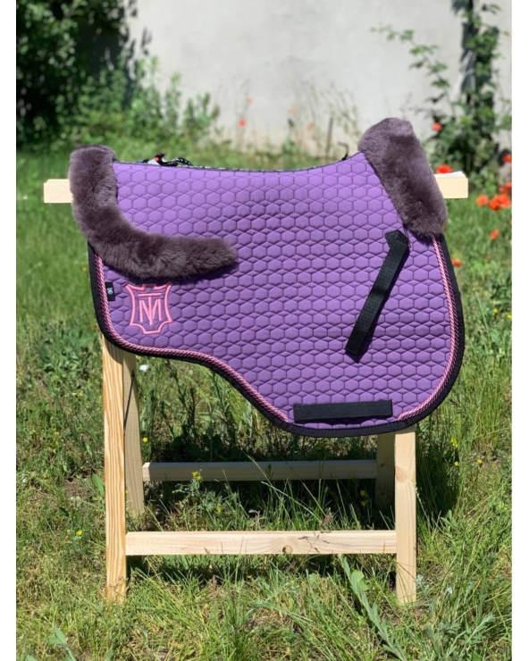 Czaprak Eurofit FUCHS MATTES violet Saddle Fix