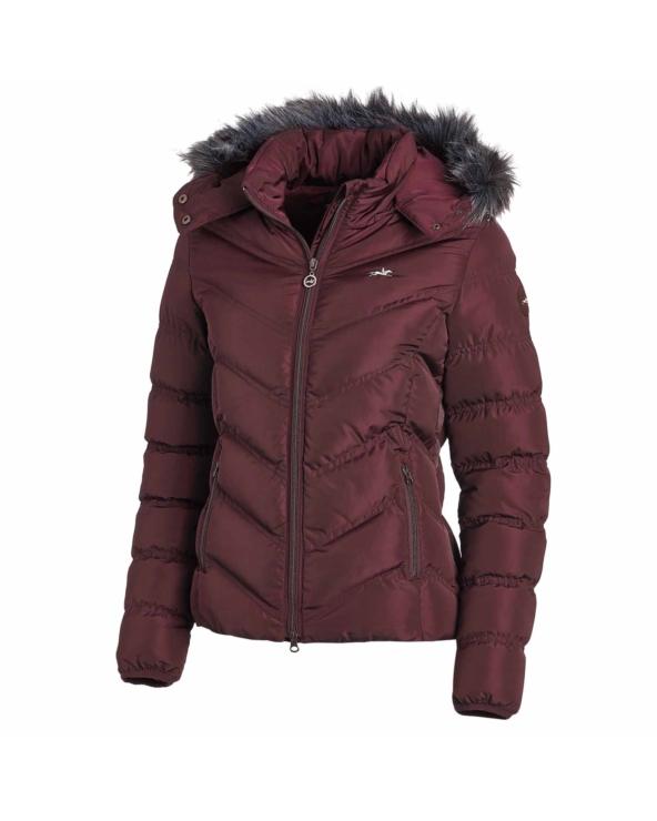 Kurtka zimowa Fame Style Schockemohle Burgundy