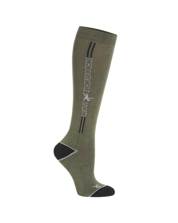 Skarpety zimowe Sporty Socks Schockemohle Olive
