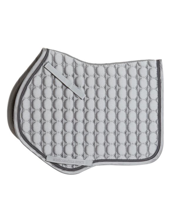 Czaprak Glossy Pad S Style Schockemohe Silver