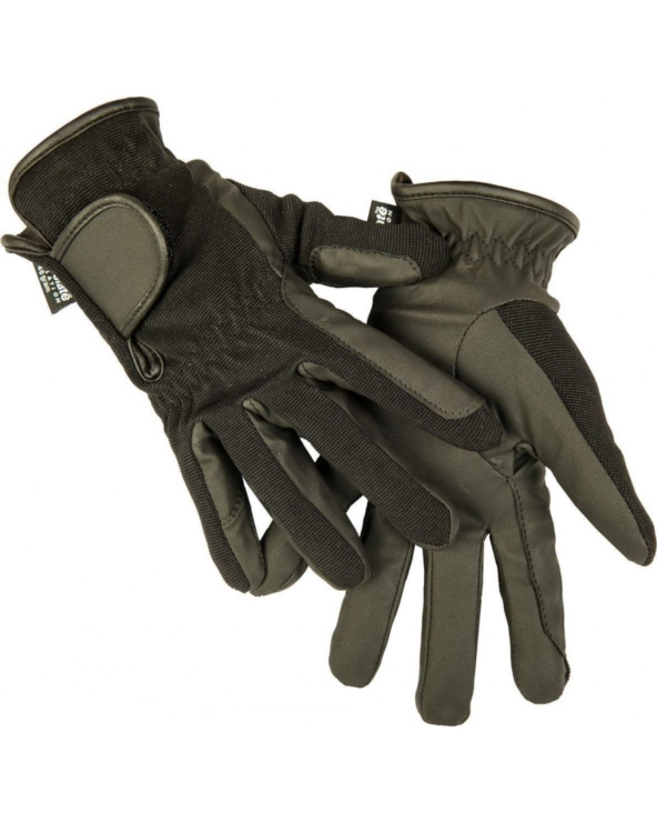 Rękawiczki zimowe dziecięce z imitacji skóry HKM