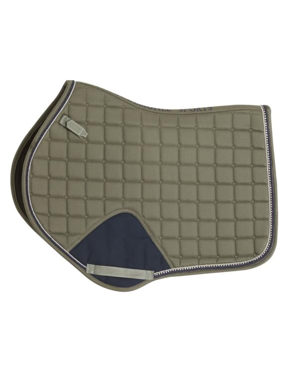 Czaprak Power Pad S Style Schockemohle Short Strap Dusty Olive