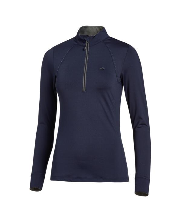 Koszulka na długi rękaw Page Style Schockemohle Dark Blue