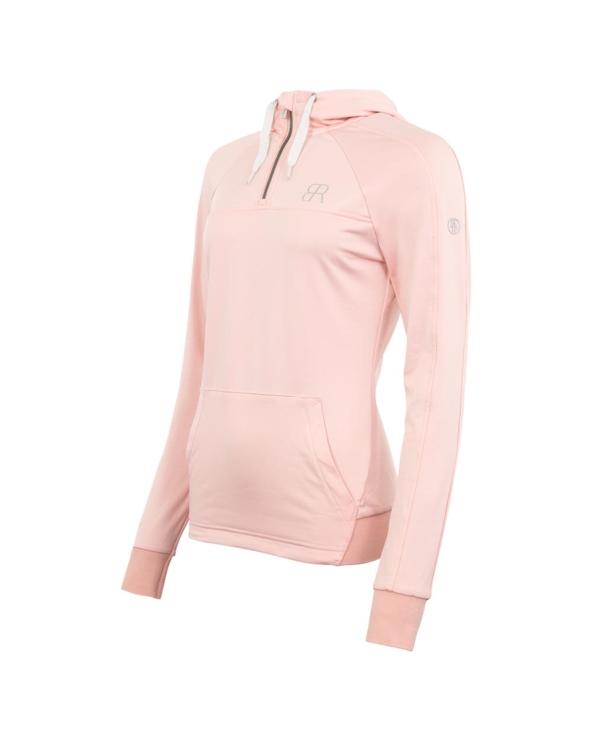 Bluza z kapturem Hoodie BR Powder Pink