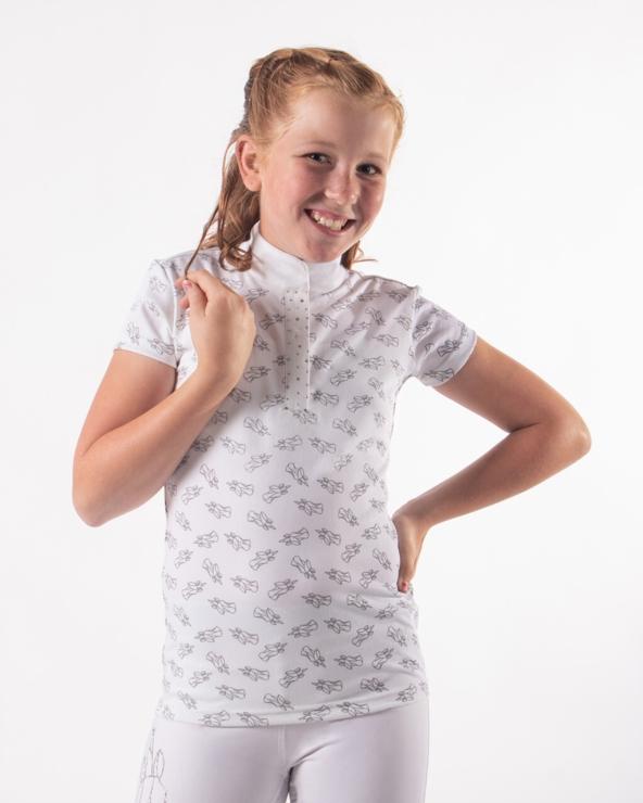 Koszulka konkursowa Jade QHP White