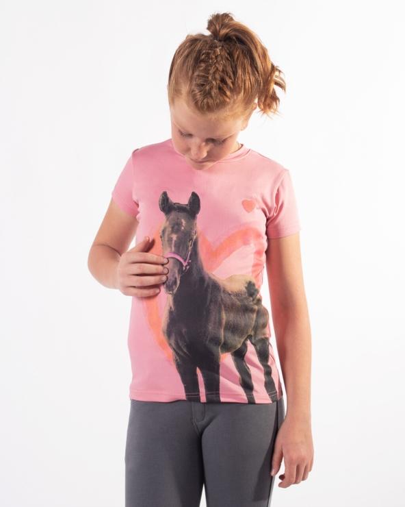 Koszulka dziecięca Iris QHP Blossom