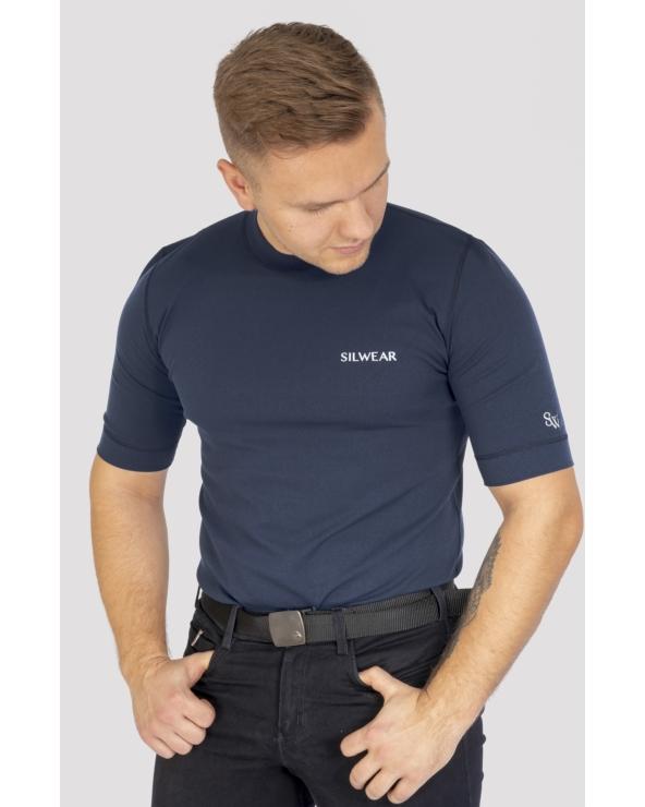 Koszulka męska ARGENTO OPTIMA SILWEAR granat